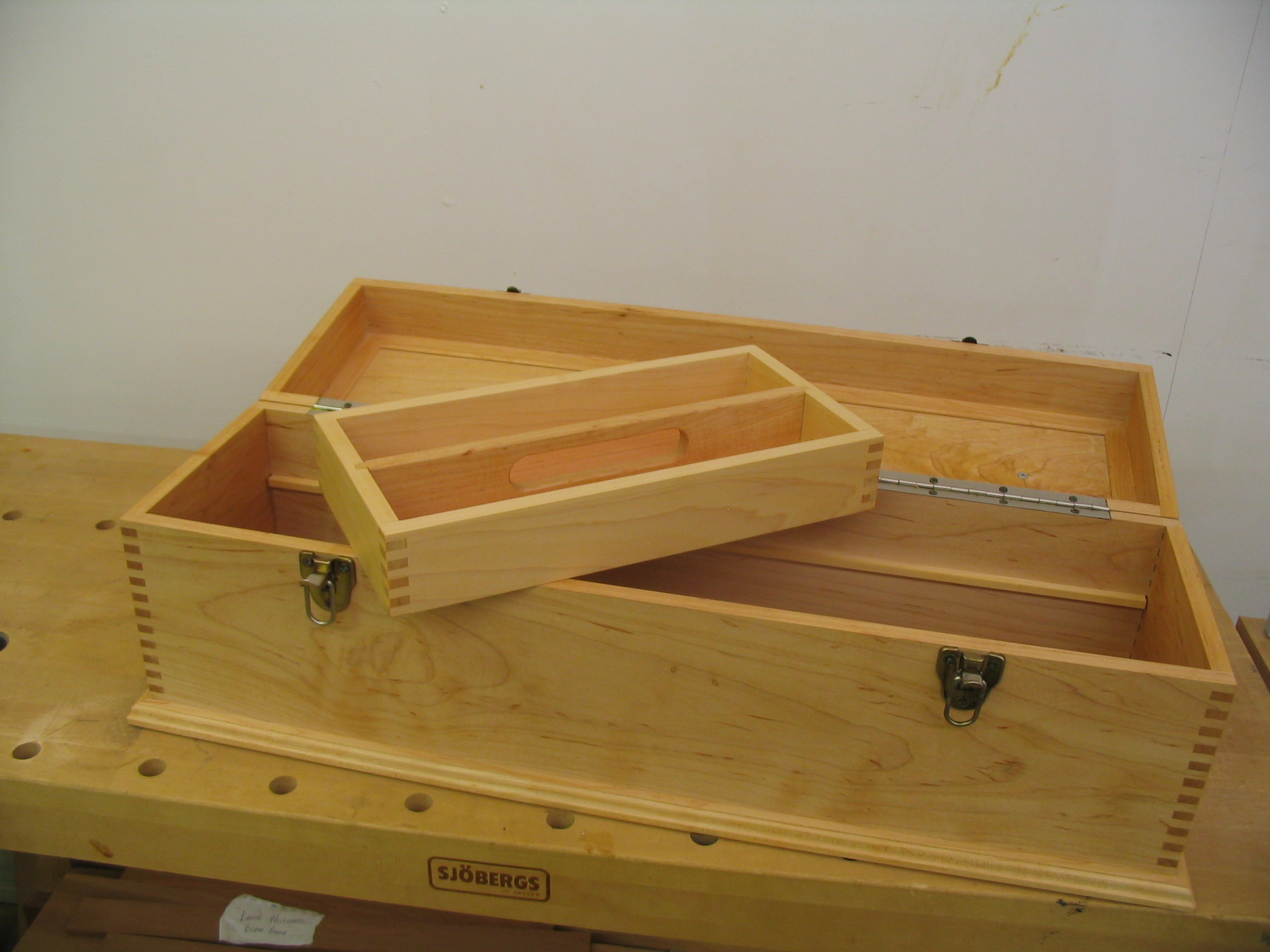 Shop Made Toolbox